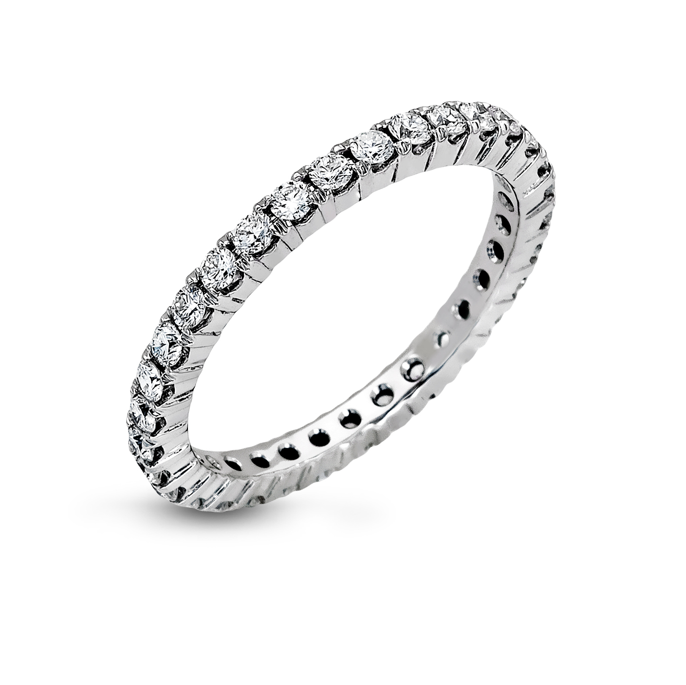 diamond jewelers condon band bands white gold row